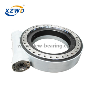 21'' Long Service Slew Ring Worm Gear Drive for Solar Tracker