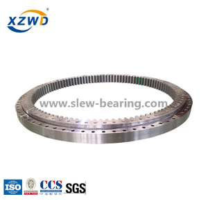 Stock internal gear ball slewing bearing with teeth hardened for excavator PC200-6 &PC200-8 on sale