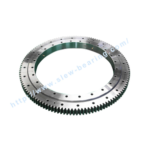 Single Row Four Point Contact Ball Slewing Bearing (HS) External Gear used for jib crane