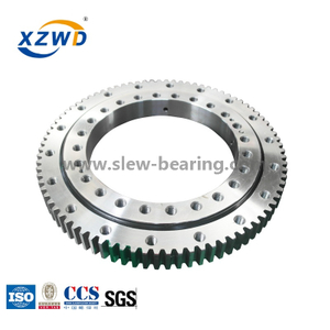 Hot Sale Single Row Ball Slewing Bearing Market for Ship Crane